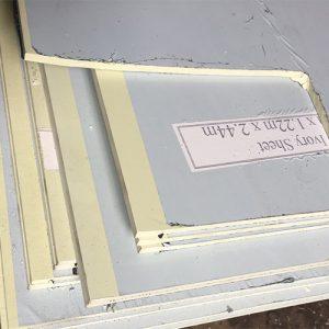 Tấm Nhựa PVC Màu Ngà – PVCN