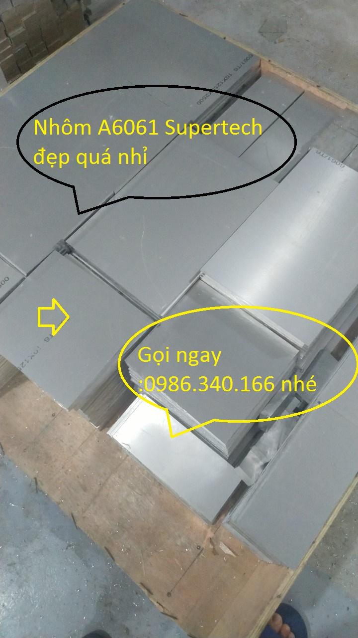 Nhôm Hợp Kim A6061 Nhập Khẩu | Giá Rẻ | Chất Lượng 0986340166